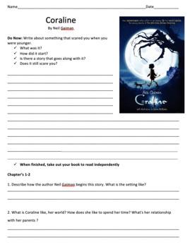 Coraline - Novel Studies