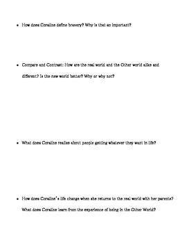 Coraline Study Guide