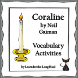 Coraline Vocabulary Activities
