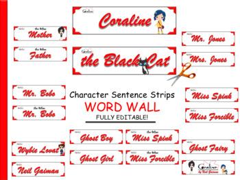 Coraline by Neil Gaiman Character Quiz