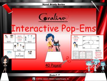 Coraline by Neil Gaiman Interactive Pop-Ems