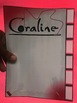 Coraline by Neil Gaiman Interactive Stack-Em & Tab-Em Notepad