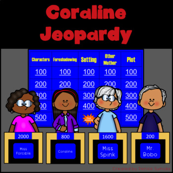 Coraline by Neil Gaiman Jeopardy