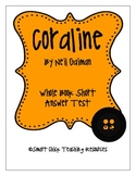 Coraline, by Neil Gaiman, Short Answer TEST