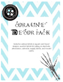 Coraline-themed decor pack