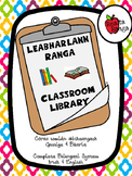 Córas Leabharlainne Dátheangach // Bilingual Library System (Irish and English)