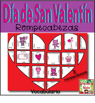 Corazón/ Vocabulario para el Día de San Valentín