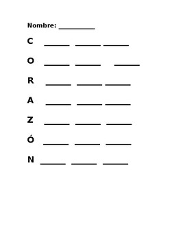 Corazon Write the Room