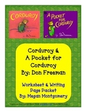 Corduroy & A Pocket for Corduroy Packet