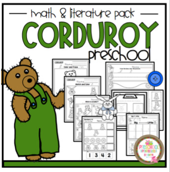 Corduroy Book Unit