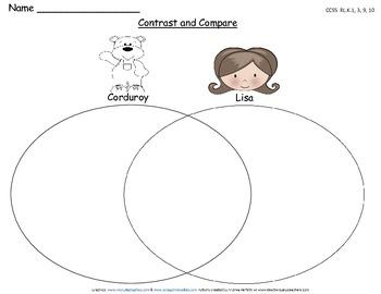 Corduroy: Common Core Literacy Activities