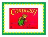 Corduroy Comprehension Packet