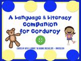 Corduroy Language and Literacy Book Companion