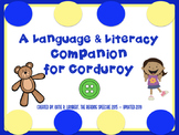Corduroy Language and Literacy Book Companion