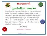 Corduroy Macaroni Quotations