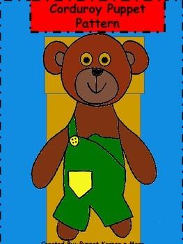 Corduroy Puppet