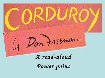 Corduroy Read Aloud PowerPoint