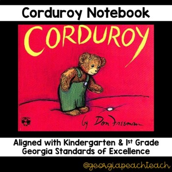 Corduroy Reading Notebook