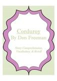 Corduroy - Story Comprehension, Vocabulary, & Retell