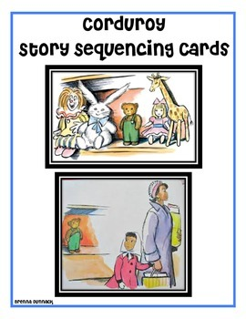 Corduroy Story Sequence Cards