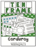 Corduroy Ten Frames