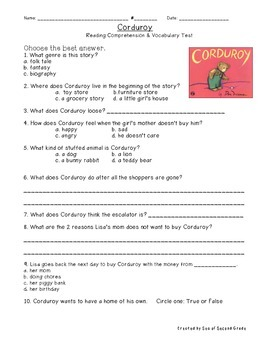Corduroy Test