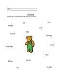Corduroy Worksheets