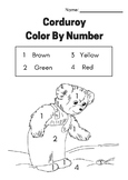 Corduroy color by number