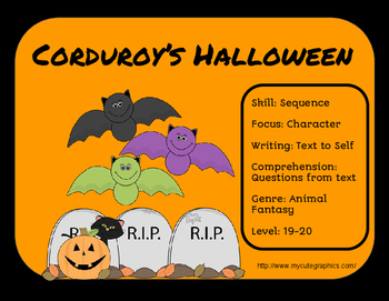 Corduroy's Halloween-Literature Group