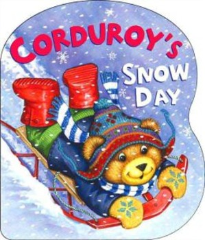 Corduroy's Snow Day - Story Visuals [speech therapy and autism]