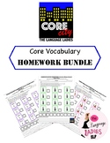 Core City HOMEWORK Bundle: 30 target words