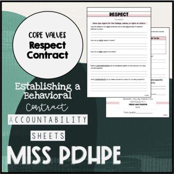 Core Classroom Values: Respect
