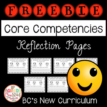 Core Competencies Reflection Pages for Primary