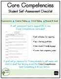 Core Competencies Self-Assessment Checklist to support BC's new curriculum