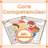 BC Core Competencies Self Reflection and Self Assessment Journal