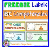 Core Competency FREEBIE - Labels
