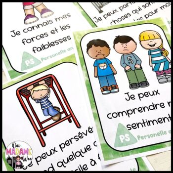 Core Competency Posters - French