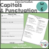 Core Curriculum Capitals and Punctuation Set 6