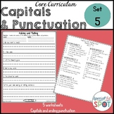 Core Curriculum Capitals and Punctuation Set 5