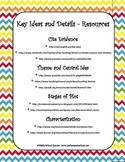 Core Curriculum Checklists w Resources - 6th Grade Reading - Chevron