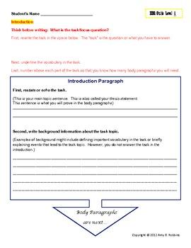 Core Curriculum:  Team SS & ELA, Essay Writing Guides