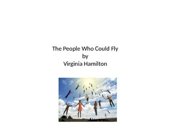 """Core Curriculum literature """"The People Could Fly"""""""