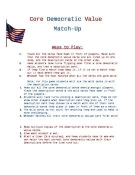 Core Democratic Match-Up