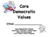 Core Democratic Record Sheets