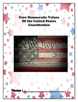Core Democratic Values Book