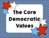 Core Democratic Values Poster Pack