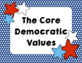 Core Democratic Values Poster Pack