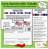 Core Democratic Values Resource Tools