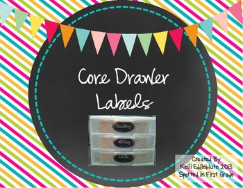 Core Drawer Labels
