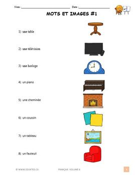 Core French Beginner Lesson 5 (#18) French Immersion